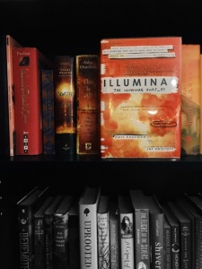 Photograph of the book cover for Illumina