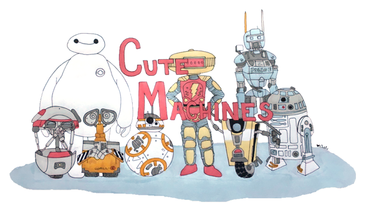 STORIES | Introducing my favorite robots in fiction