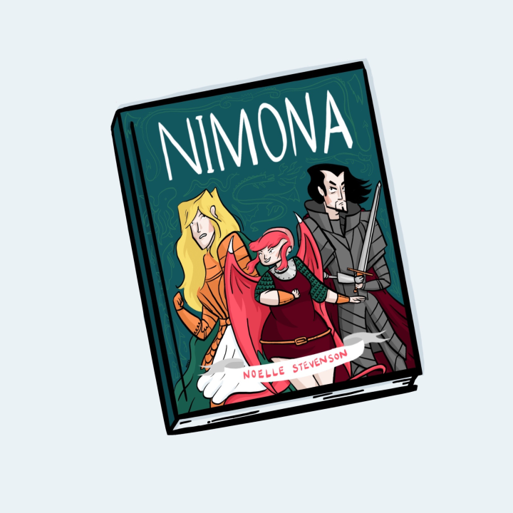 STORIES | The graphic novel I wish I created. A review of Noelle Stevenson's Nimona.